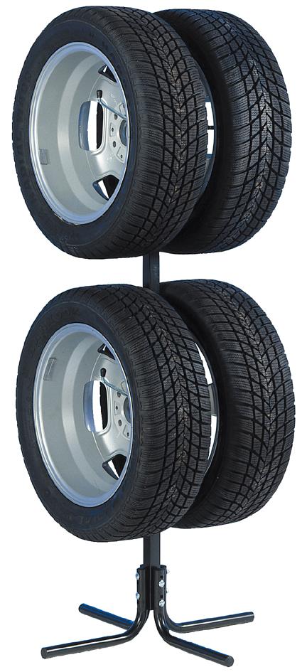 uniTEC KFZ-Felgen- und Reifenbaum, für 4 Reifen / Felgen