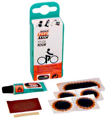 REMA TIP TOP Fahrrad-Flickzeug ´TT 01 TOUR´, 8-teilig