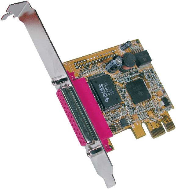 EXSYS Parallel SPP / EPP / ECP PCI-Express Kart...