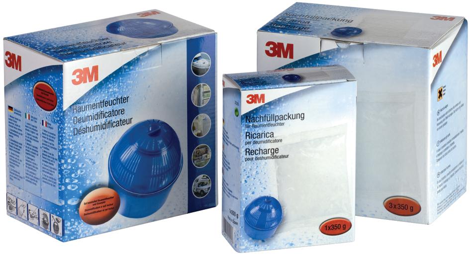 3M Luftentfeuchter Nachfüllbeutel, 350 g