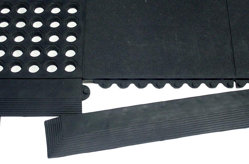 miltex Randleiste Yoga Solid Spark, 965x65 mm, schwarz, m.