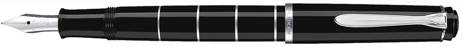 Pelikan Füllhalter , M 215 Ringe, , Farbe: schwarz