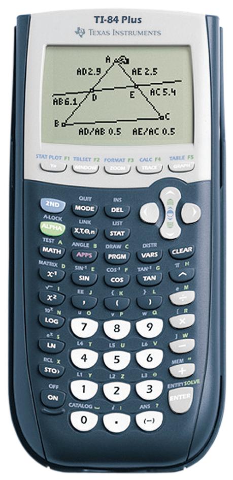 TEXAS INSTRUMENTS Grafikrechner TI-84 Plus