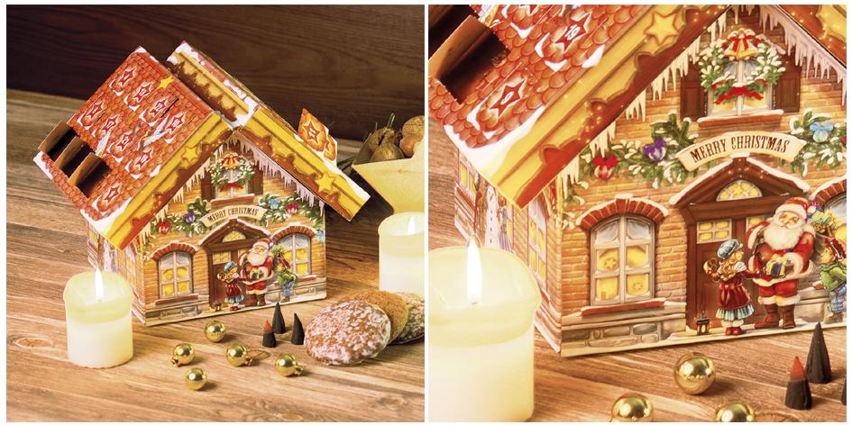 ROTH Räucherkerzen-Adventskalender ´Räucherhaus´