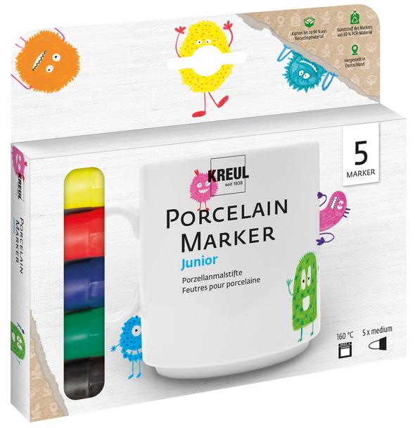 KREUL Porzellanmarker Hobby Line, 5er-Set