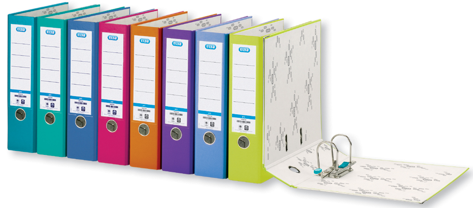ELBA Ordner smart Pro PP/Papier, Rückenbreite: 80 mm, grün