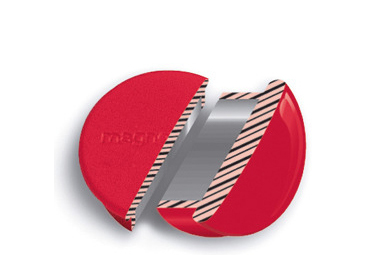magnetoplan Discofix Rundmagnet , mini, , schwarz