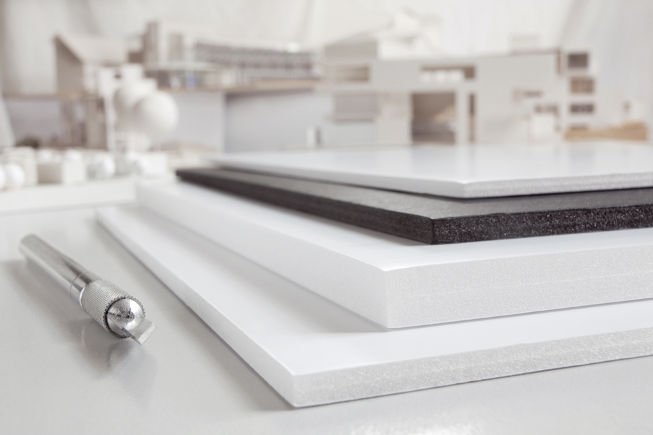 transotype Foam Board, 297 x 420 mm (A3), weiß, 5 mm