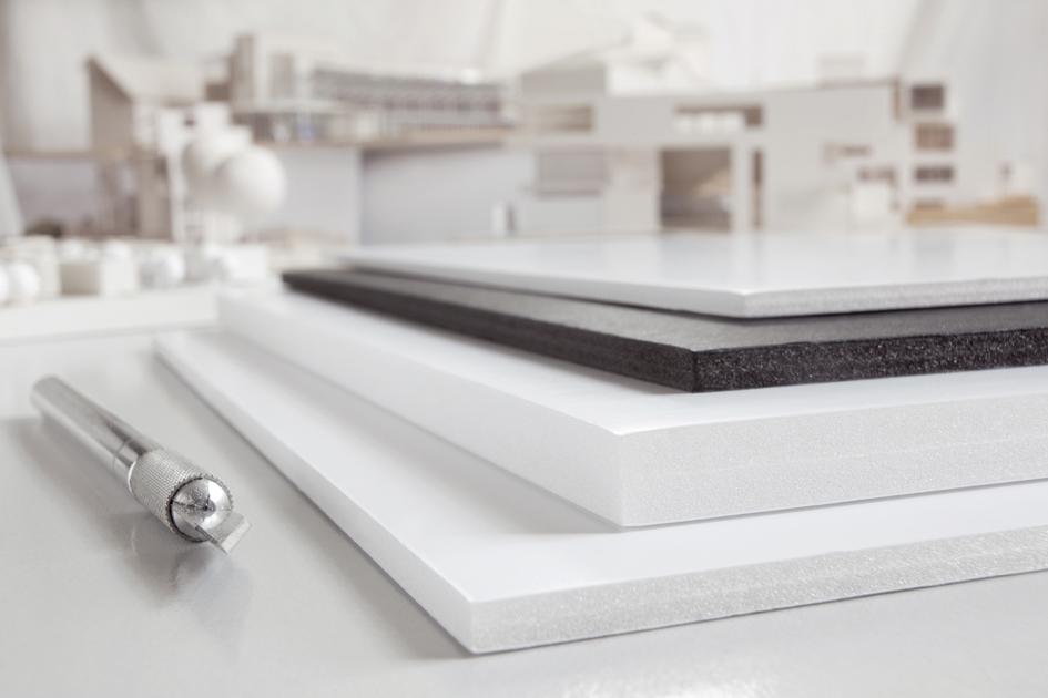 transotype Foam Board, 297 x 420 mm (A3), schwarz, 5 mm