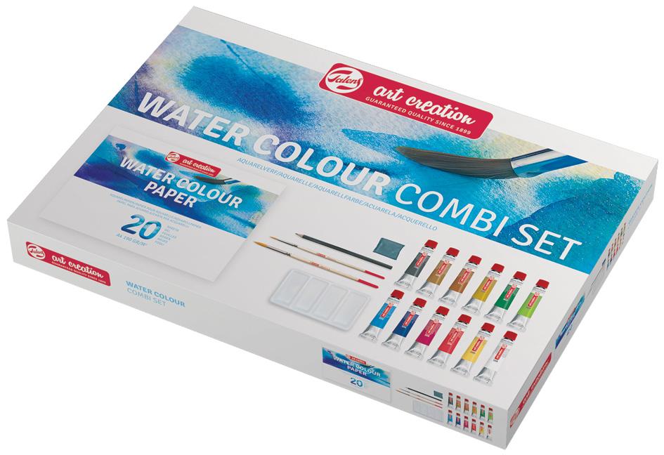 ROYAL TALENS Art Creation Kombiset Aquarellfarbe, 12 x 12 ml