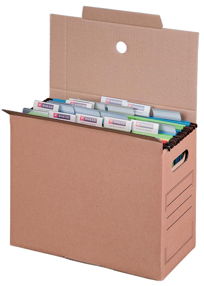 smartboxpro Hängemappen-Archiv, braun, (B)160 mm