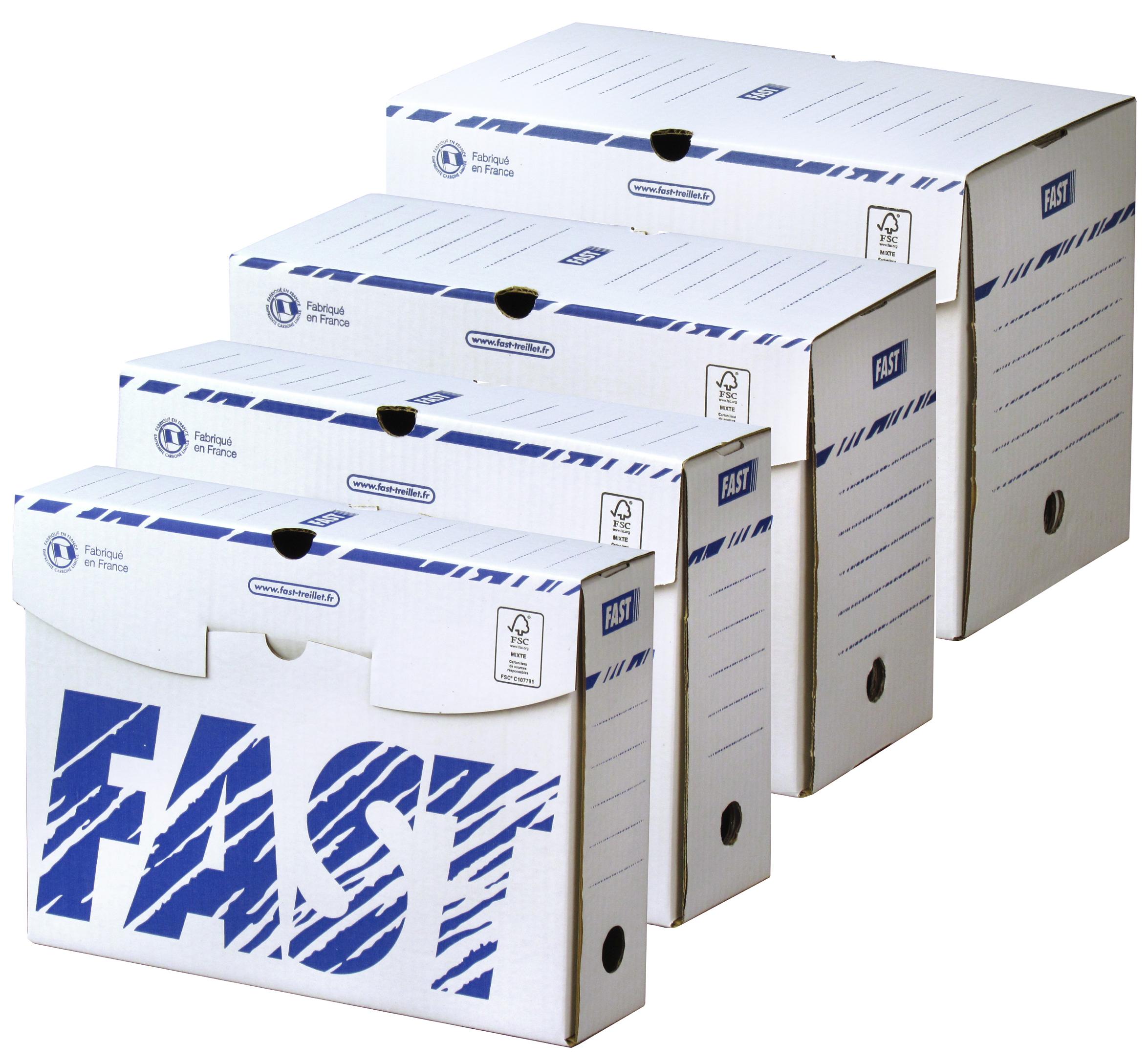 FAST Archiv-Schachtel, 250 x 330 mm, Rückenbrei...