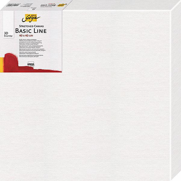 KREUL 3D Keilrahmen SOLO Goya BASIC LINE, 400 x 800 mm
