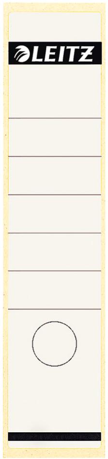 LEITZ Ordnerrücken-Etikett, 61 x 285 mm, lang, breit, gelb - Preisvergleich