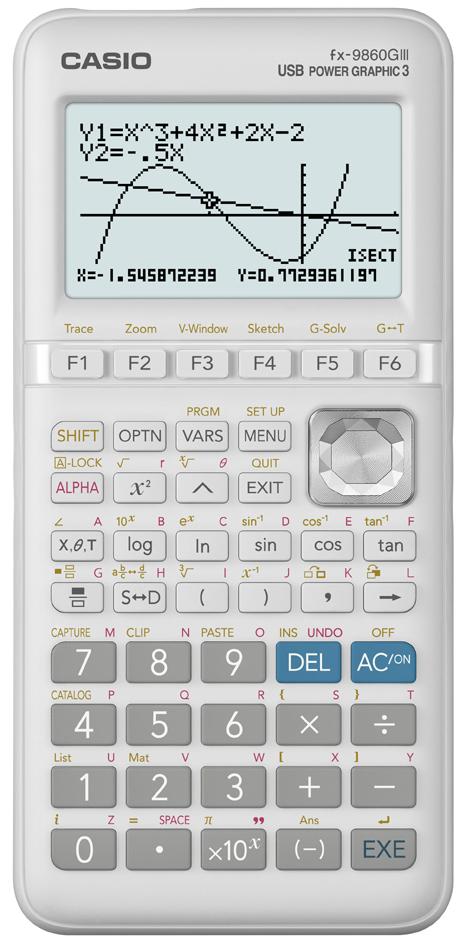 CASIO Grafikrechner FX-9860 GIII, Batteriebetrieb