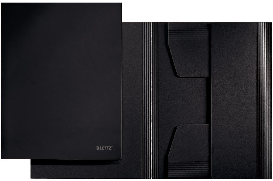 LEITZ Jurismappe, DIN A4, Karton 320 g/qm, schwarz