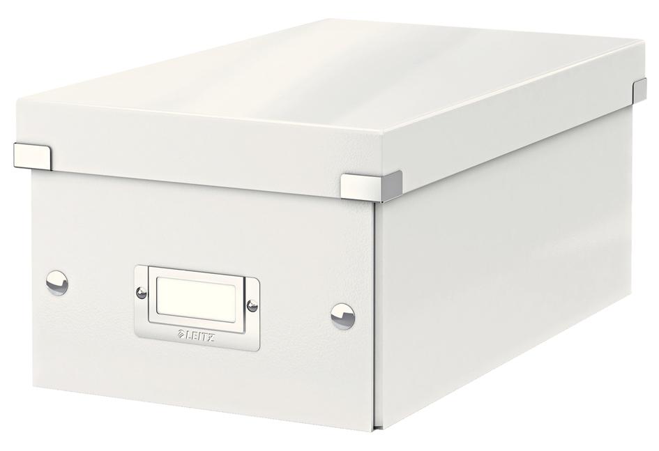 LEITZ DVD-Ablagebox Click & Store WOW, weiß