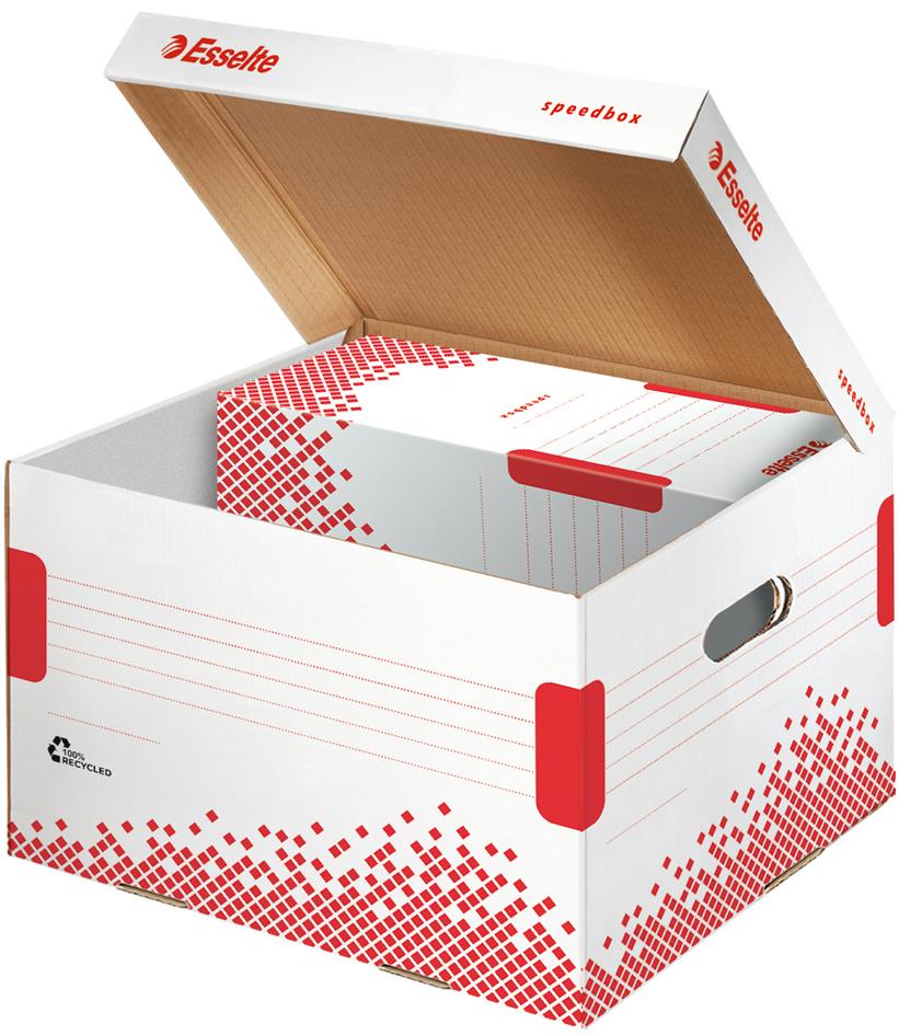 Esselte Archiv-Klappdeckelbox SPEEDBOX, Große: ...