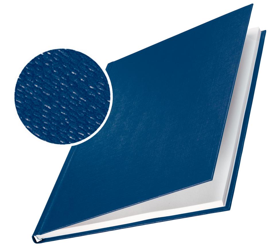 LEITZ Buchbindemappe impressBind, A4, 3,5 mm, blau, Hard