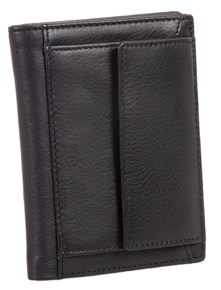 Alassio Kreditkartenbörse mit Münzfach und RFID, schwarz
