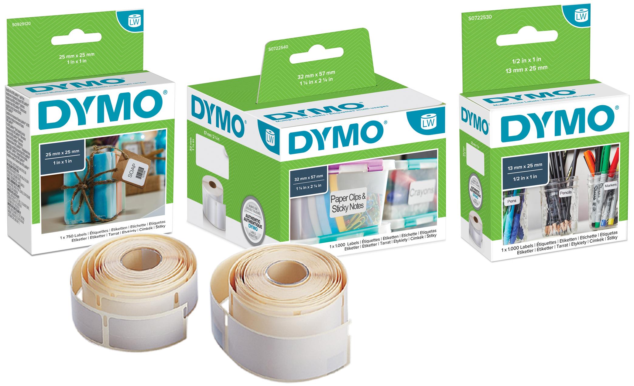 DYMO LabelWriter-Universal-Etiketten, 57 x 32 mm, weiß