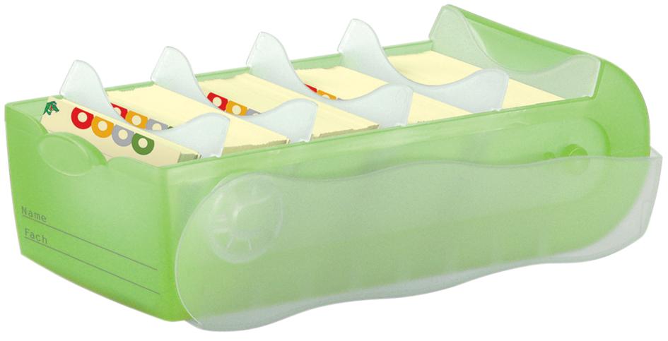 HAN Lernkartei CROCO, A8, Unterteil: grün-transluzent