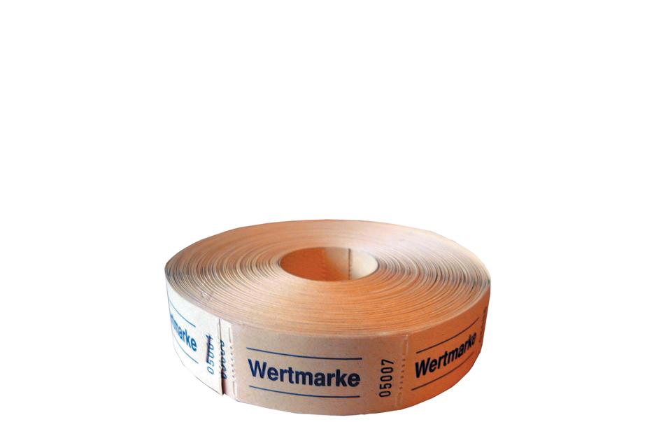 herlitz Wertmarken 0,50 Euro, 1.000 Abrisse je ...