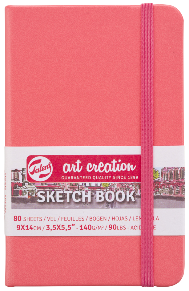 ROYAL TALENS Art Creation Skizzenbuch, 90 x 140 mm, gelb