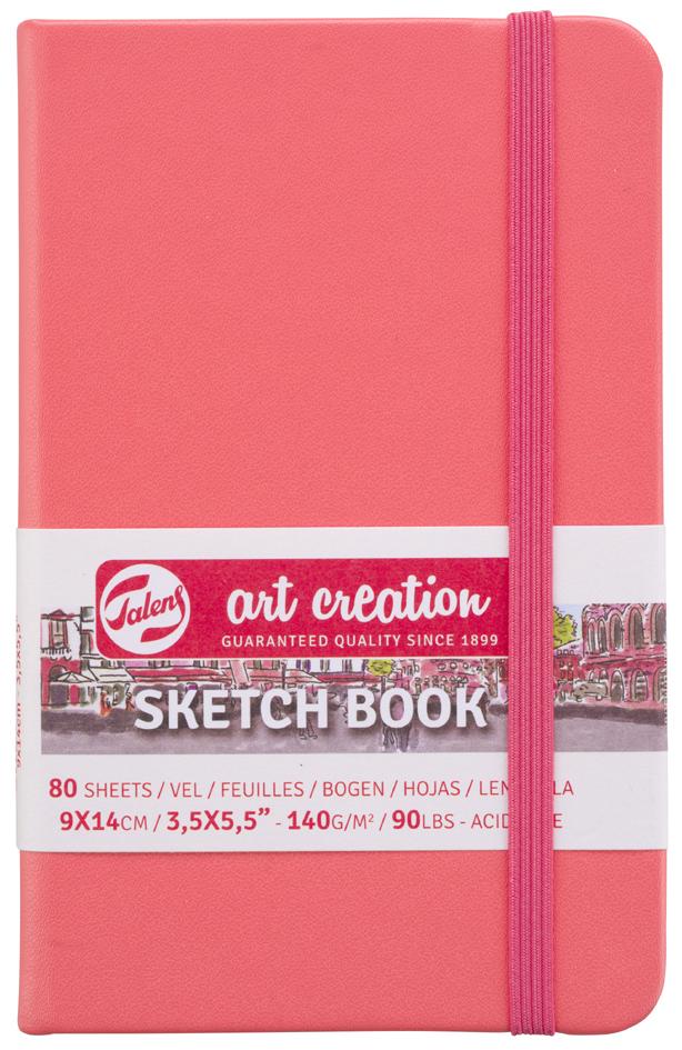 ROYAL TALENS Art Creation Skizzenbuch, 130 x 210 mm, gelb
