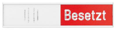 Hinweisschild 'Frei-Besetzt', (B)152 x (H)37,4 mm