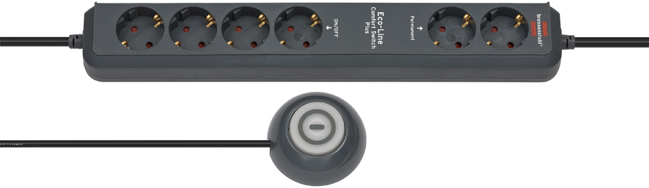 brennenstuhl Steckdosenleiste Eco-Line Comfort Switch CSP 24