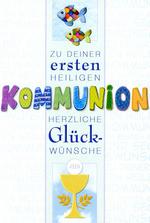 HORN Kommunionskarte - Kinder mit Kerze, inkl. ...