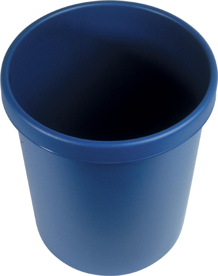 helit Papierkorb ´the german´, 45 Liter, PE, schwarz