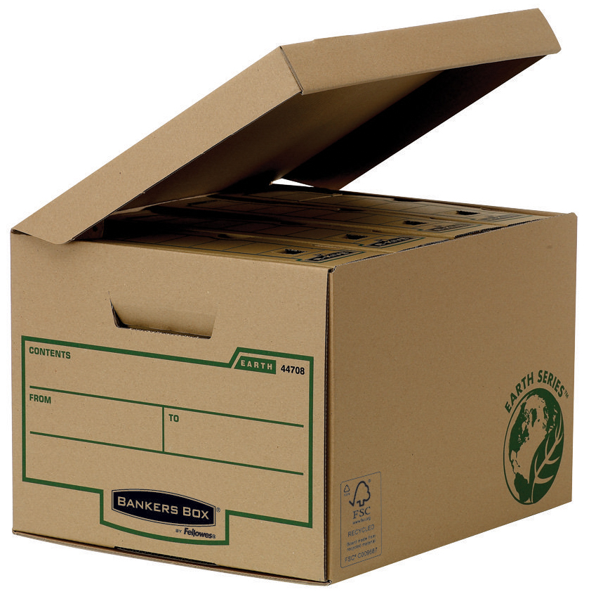 Fellowes BANKERS BOX EARTH Archiv-Klappdeckelbo...