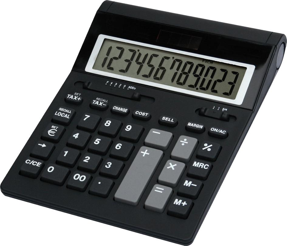 TWEN Tischrechner 1220 S, schwarz