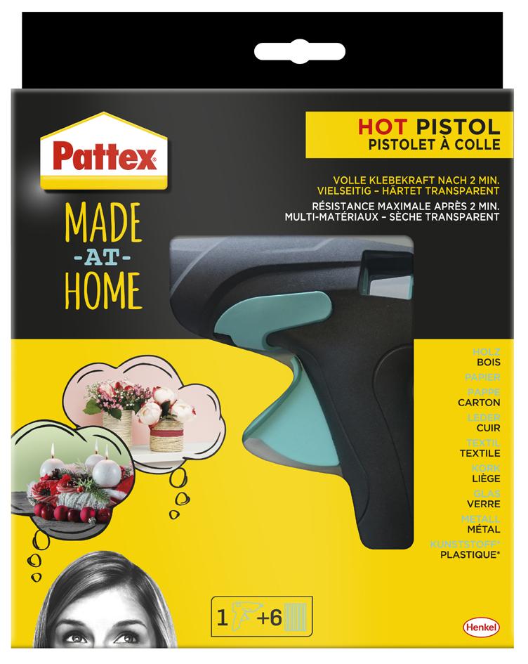 Pattex Heißklebepistole HOT PISTOL ´Made at Home´