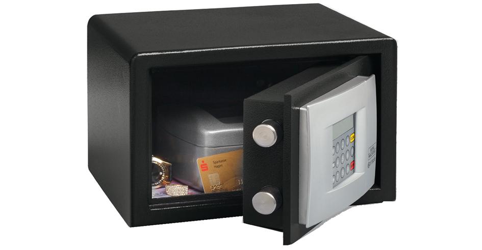 BURG-WÄCHTER Möbeleinsatz-Tresor PointSafe P 1 E, schwarz