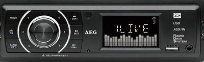 Autoradio AR 4027, schwarz