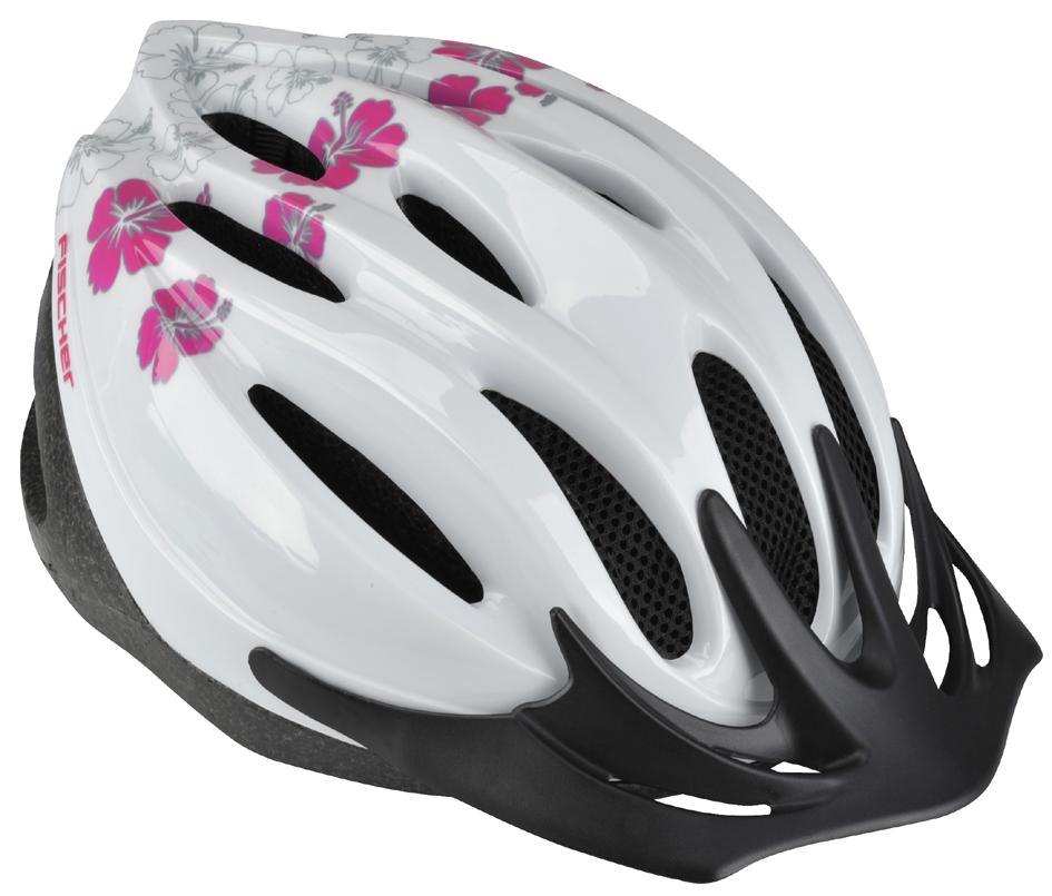 FISCHER Fahrrad-Helm ´Hawaii´, Größe: S/M