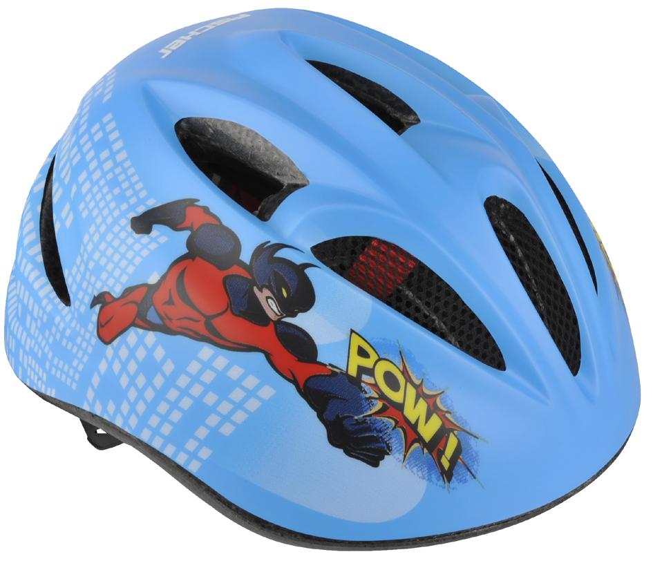FISCHER Kinder-Fahrrad-Helm ´Comic´, Größe: S/M