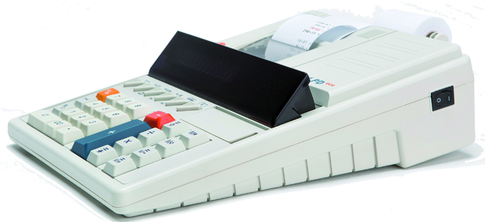 TRIUMPH-ADLER druckender Tischrechner 121 PD Eco
