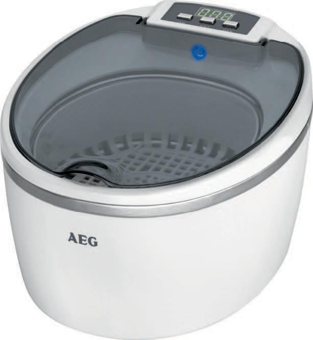 AEG Ultraschallreiniger USR 5659, weiß