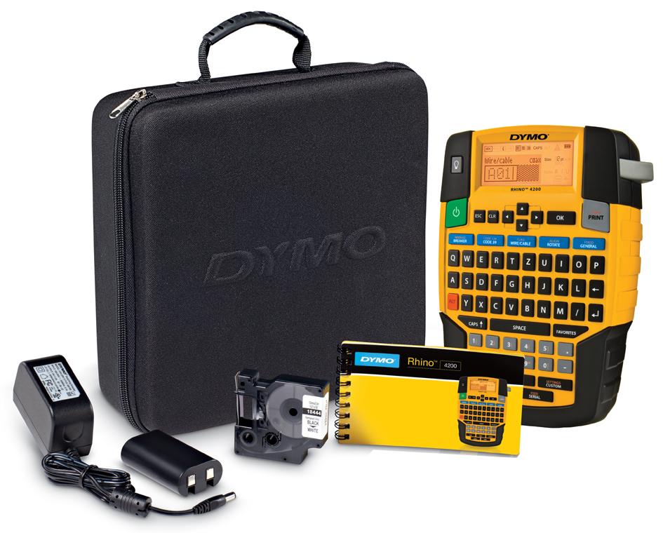 DYMO Industrie-Beschriftungsgerät , RHINO 4200, , im Koffer