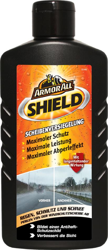 ARMOR ALL SHIELD Scheibenversiegelung, Flasche, 200 ml