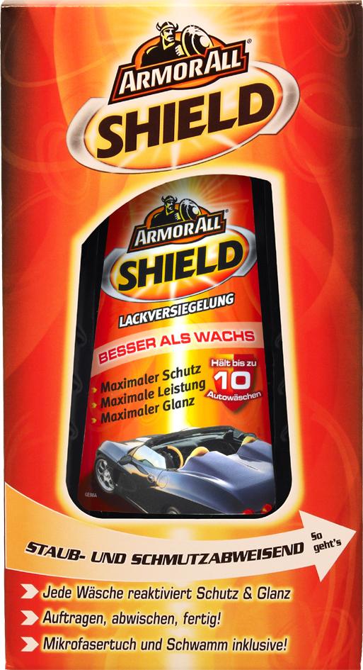 ARMOR ALL SHIELD Lackversiegelung, Flasche, 500 ml