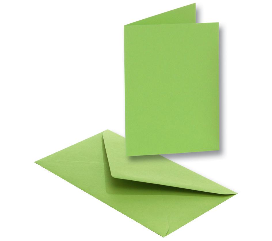 folia Doppelkarten, 105 x 150 mm, 220 g/qm, mai...