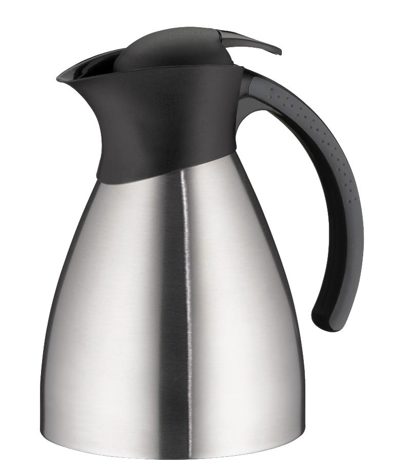 alfi Isolierkanne BONO TOPTHERM, 1,0 Liter, silber/schwarz