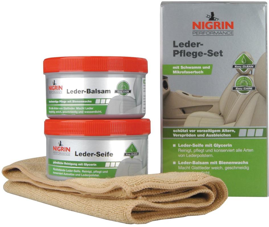 NIGRIN Performance Leder-Pflege-Set