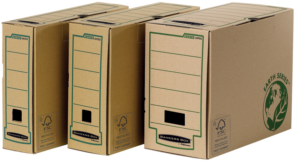 Fellowes BANKERS BOX EARTH Archiv-Schachtel, (B...