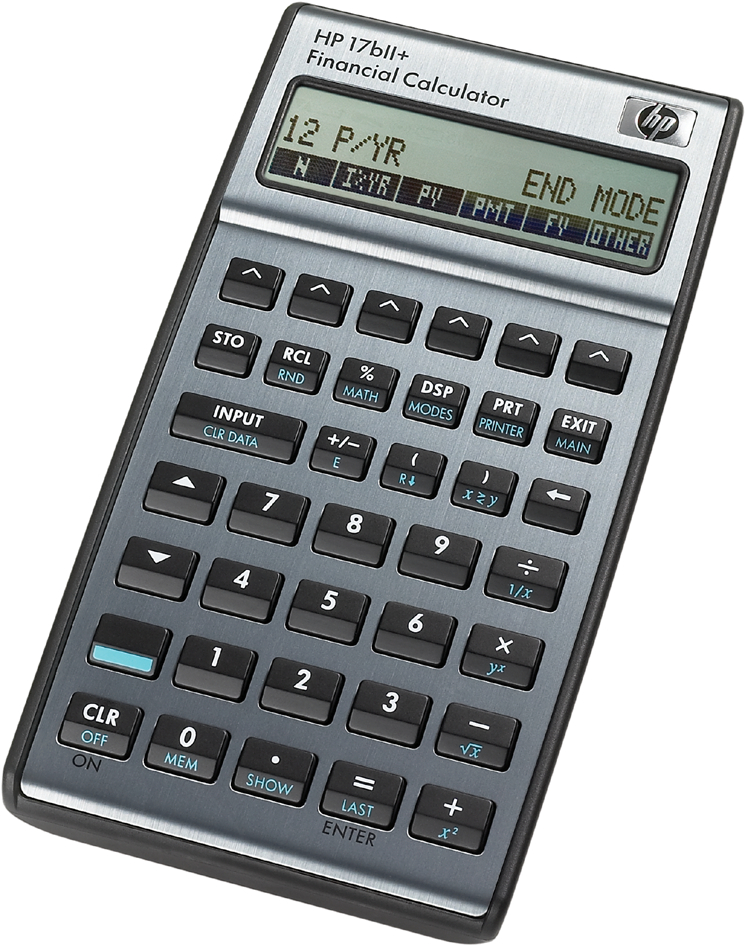 hp Finanzrechner hp 17bII+, 22-stelliges Display